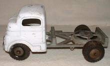 Antique Structo Toy Truck Cab & Chassis, C. 1940's