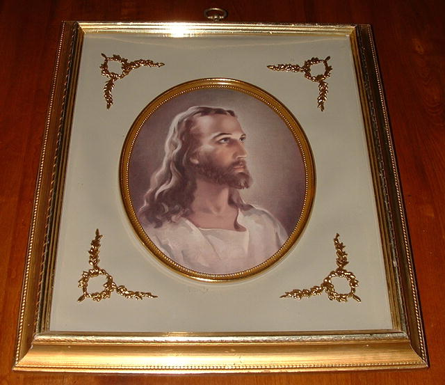 Vintage Turner Wall Accessory - Head of Christ, C. 1957
