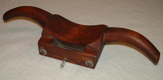 Antique Primitive Wooden Spoke Shave