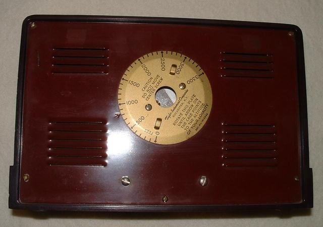 Taylor Art Deco Bakelite Barometer Weather Instrument