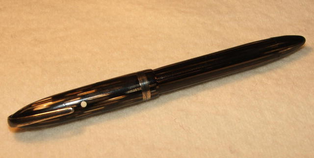 WWII Era Sheaffer White Dot Fountain Pen With Military Clip