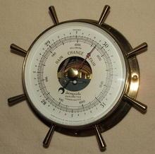 Vintage Airguide Nautical Barometer by Fee & Stemwedel