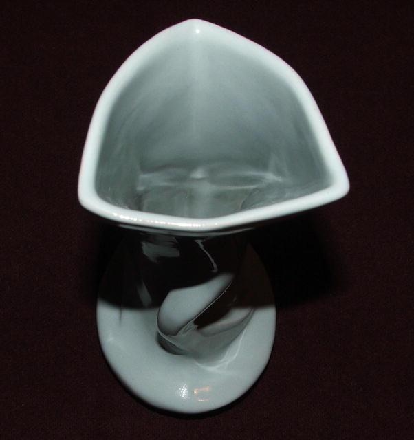 Vintage Frankoma  Blue Modernistic Vase # 95