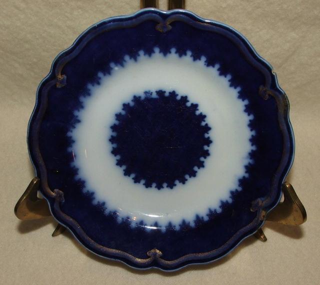 Antique W. H. Grindley English Flow Blue