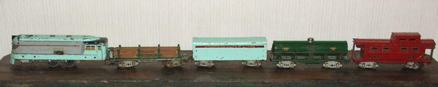 Pre-War American Flyer Hiawatha Train Set