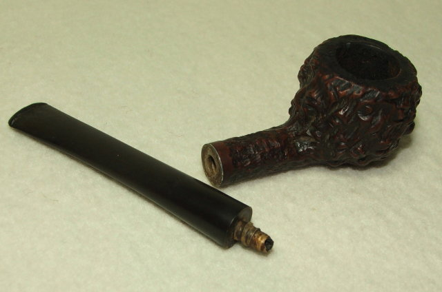 Vintage Kaywoodie Natural Burl Estate Pipe