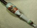 Vintage Czechoslovakia Pipe / Handpainted Stag