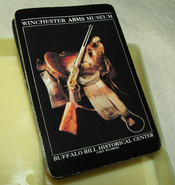 Vintage Buffalo Bill Plains Indians / Winchester Museum Playing Cards