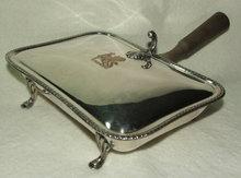Vintage / Antique Silverplate Silent Butler