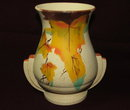 Vintage / Antique Art Deco  Handpainted English Vase