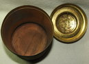 Vintage / Antique La Palina Senators Brass Humidor