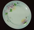 Antique Nippon Plate - Hand Painted Violets