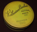 Vintage Katherine Beecher Butter Mints Tin / Vintage Tatting-Crochet Thread