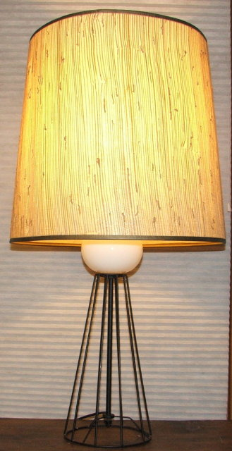 Mid Century Retro Atomic Age Table Lamp