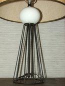 Mid Century Retro Atomic Age Table Lamp