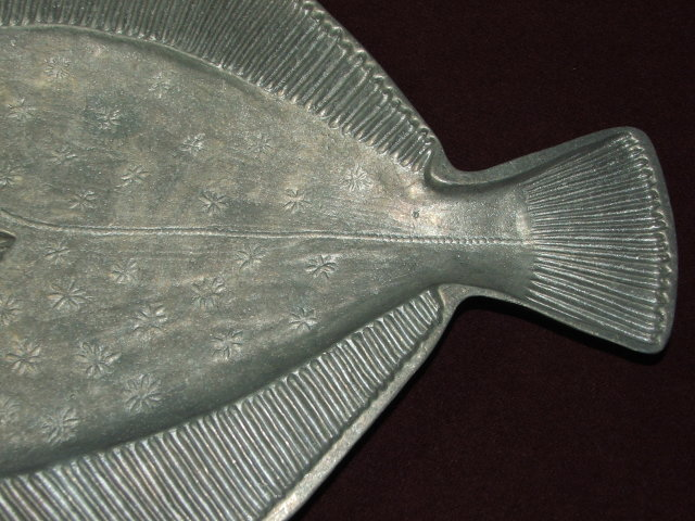 Nelles Studio Artisan Made Cast Aluminum Fish Platter