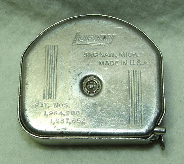 Small Lufkin Mezurall 6 Ft. Steel Tape No. 926