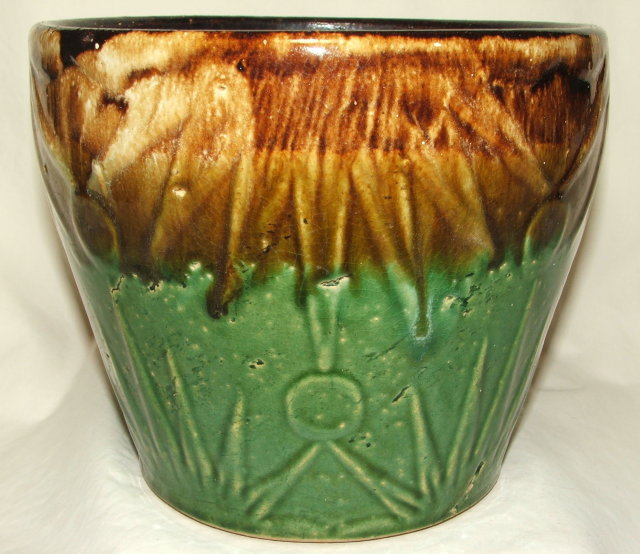 Large Vintage / Antique RRP Robinson Ransbottom Pottery Jardiniere