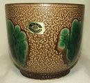 Vintage Heffen Belgium Art Pottery Jardiniere