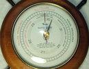 Taylor Ship's Wheel Baroguide Barometer, Circa 1940