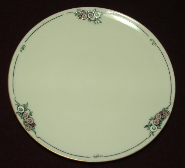 Antique Lenox China Gold Rim Porcelain Plate