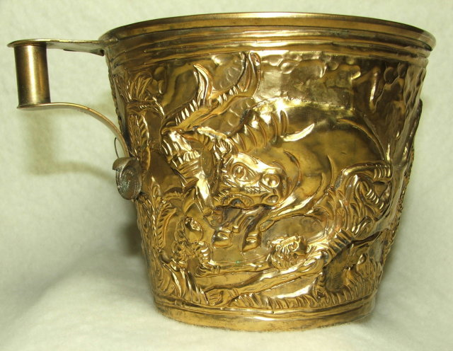 1965 Greek Replica of Ancient Minoan Vaphio Cup