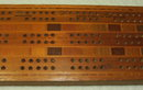 Vintage Native Timbers of New Zealand Cribbage Board