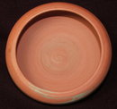 Vintage / Antique Unmarked Mission Swirl Pottery Bowl