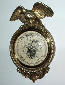 Hoffritz Golden Eagle Wall Barometer Made in Belgium