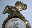 Hoffritz Golden Eagle Wall Barometer Made in Belgium
