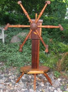 Antique Primitive Wooden Yarn / Skein Winder