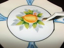 Antique Noritake Art Deco Gold-Edged Lemon Dish