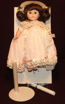 1989 Ltd. Ed. Ginny Porcelain Bridesmaid Doll