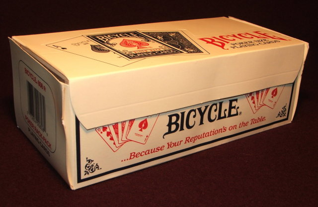 One Dozen Bicycle Poker Size Playing Cards in Rack-Pack