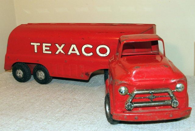 1950's Buddy L Diecast Texaco Tanker Truck