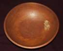 Large Early Munising Wooden Sugar Maple  Dough Bowl
