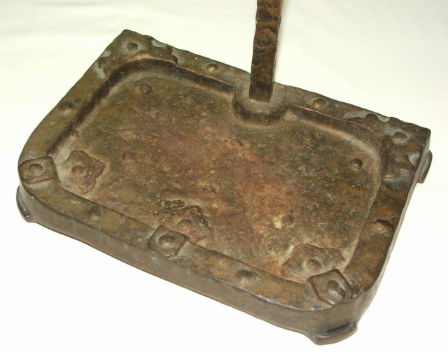 Vintage / Antique Arts & Crafts Cast Iron Fireplace Tool Holder