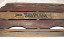 Vintage / Antique Firestone Ski Plane Wooden Sled