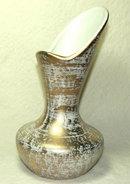Mid-Century Royal Haeger Gold Washed Vase # 413