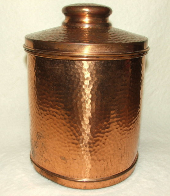 Antique Benson & Hedges Hammered Copper Humidor