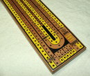 Vintage 1950's Drueke Regulation Track Cribbage Board No. 2050 in Box