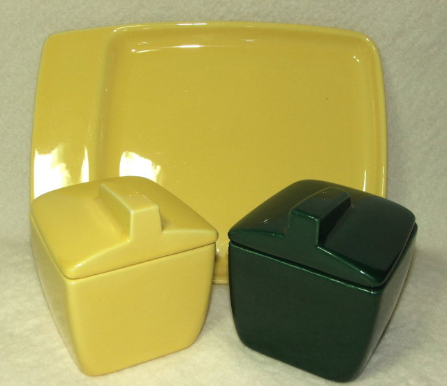 Mid-Century Franciscan Toastmaster Toast and Jam Set
