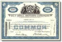 ACF Brill Motors Company - Famous Bus Manufacturer 1955