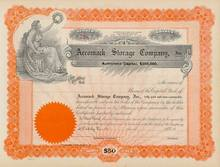 Accomack Storage Company Stock Certificate