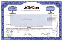 Activision ( Famous Video Game Company )