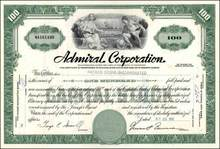 Admiral Corporation - Famous Radio and TV Maker