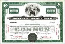 Ahlberg Bearing Company - Illinois