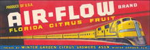 Air-Flow Brand Florida Citrus Fruit