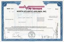 Air Vermont North Atlantic Airlines, Inc.
