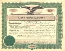 Ajax Gripper Company 1921